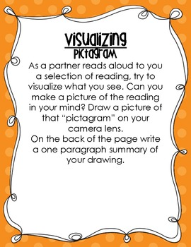 Free Visualizing Reading Center Activity