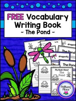 Free Vocabulary Writing Book - The Pond