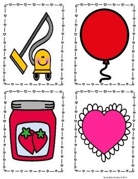 Free Vv in Valentines Initial Consonants Mini Lesson