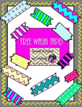 Free Washi Tape! {Confetti and Creativity Clipart}