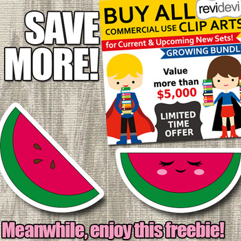 Free Watermelon Clipart