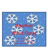 Free Weather Word Cards