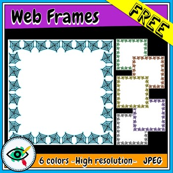 Free Web Frames clipart for Halloween