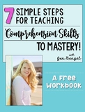 Free Webinar Workbook: 7 Simple Steps for Teaching Reading