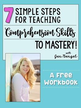 Free Webinar Workbook: 7 Simple Steps for Teaching Reading