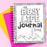 Free Week Mindfulness and Growth Mindset Journal for Teens