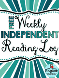 Free Weekly Independent Reading Log