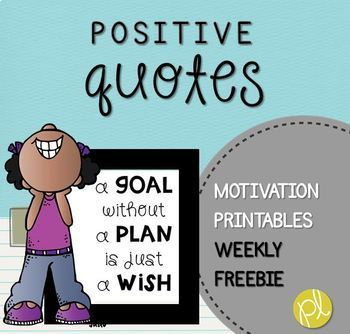 Free Weekly Motivational Quote!