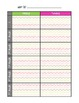 Editable Weekly Planner- Specials K-5 {Freebie}