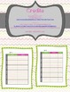 Editable Weekly Planner- Specials K-5 {Freebie}