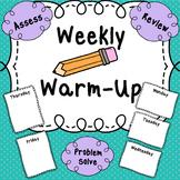 Free Weekly Warmup!