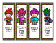 Free Welcome Back to School Bookmarks