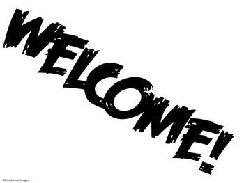 Free Welcome Signs