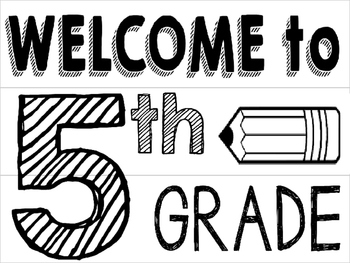 Free Welcome to Our Classroom Lightbox Templates