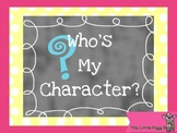 FREE Who's My Character - Higher Order Thinking Skills Game