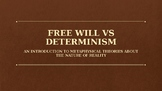 Free Will vs. Determinism-An Introduction