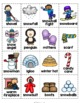 Free Winter Activities - Fun No Prep Winter Worksheets & Winter Vocabulary Cards