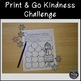 Free Winter Acts of Kindness Organizer