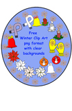 Free Winter Clip Art in png format with transparent backgrounds
