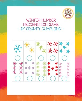 Free Winter Clip Cards