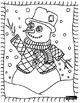 Free Winter Coloring: Art Language Review
