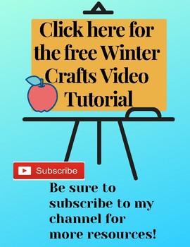 Free Winter Crafts Video Tutorial