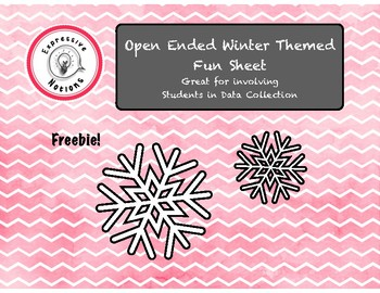 Free Winter Fun Sheet