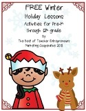 Free Winter Holiday Lessons By The Best of Teacher Entrepreneurs MC - 2018