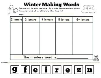 Free Winter Literacy Center