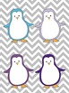 Winter Music Game: Piano Keyboard Penguins