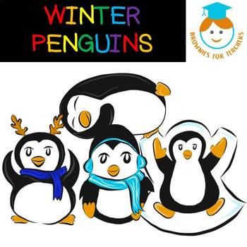 Free Winter Penguins