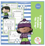"Free Winter Printable ""No Prep"""