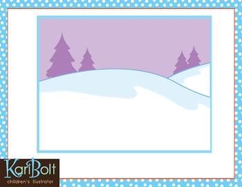 Free Winter Scene Clip Art