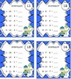 Free Downloads Winter Task Cards! 100 addition and subtraction facts!