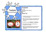 Free: Winter Themed Craft Centers/Games Directions & Handouts