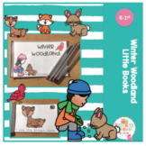 Free Winter Woodland Little Reader