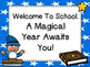 Free -Wizard Theme Welcome Posters