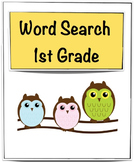 Free Word Search  -1st Grade