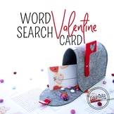 Free Word Search Valentine Card