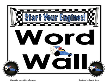 Free- Word Wall Labeling Header Set