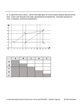 Pythagorean Theorem Worksheet with Video Answers