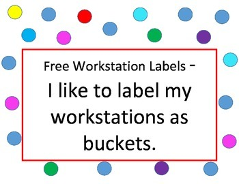 Free Workstations Labels