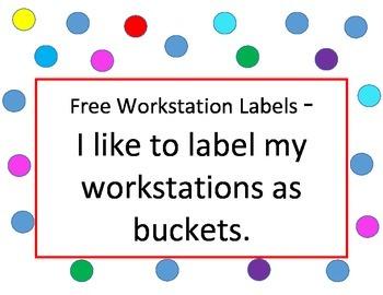 Free Workstations Labels