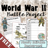Free World War 2 Battle Project