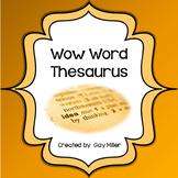 Free Wow Words Mini Thesaurus