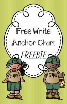 Free Write Anchor Chart FREEBIE