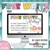 Free Write Fun (or Friday) Writing Slides - May