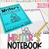 Free Writer's Notebook | Distance Learning Printables