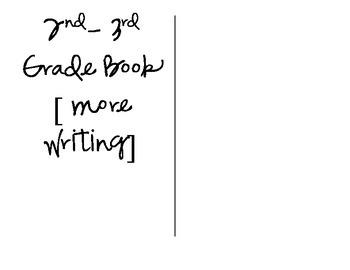 Free Writing Book Template