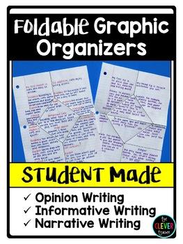 Free Writing Graphic Organizers